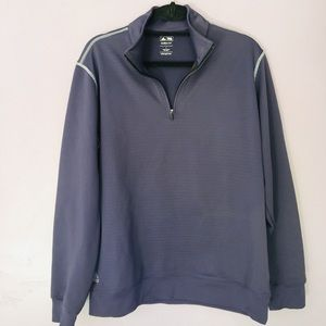 😁Adidas purple pull over size large